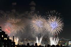 4th of July 2017 Macy's Fireworks-85 (Diacritical) Tags: brooklyn nycmacys nikond4 pattern 70200mmf28 30secatf71 july42017 85159pm f71 230mm 4thofjuly fireworks macysfireworks nyc night skyline