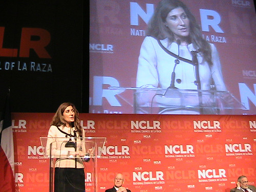 Lisa Pino, Deputy Administrator for the Supplemental Nutrition Assistance Program, spent a week meeting with Hispanic community leaders at the national conventions of the League of the United Latin American Citizens (LULAC) and the National Council of La Raza (NCLR) to talk about the need for access to nutritious food, more participation in FNS' nutrition assistance programs and nutrition education coupled with increased physical activity.