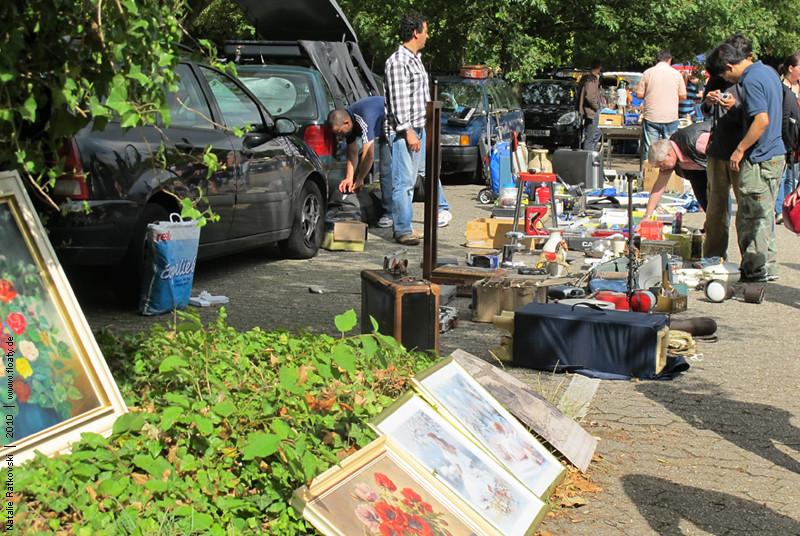 Flea market in Bochum, Germany