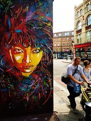 C215 - London (C215) Tags: streetart art french graffiti stencil christian pochoir masacara szablon c215 schablon gumy piantillas
