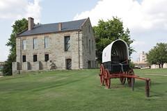 Fort Smith National Historic Site, Arkansas (Ancestors of Cornelius Dunham) Tags: army 19thcentury prison jail arkansas fortsmith frontier gallows execution arkansasriver prisoners criminals trailoftears fortsmithhistoricsite