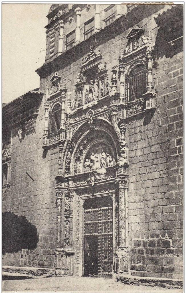 Museo de Santa Cruz a comienzos del siglo XX