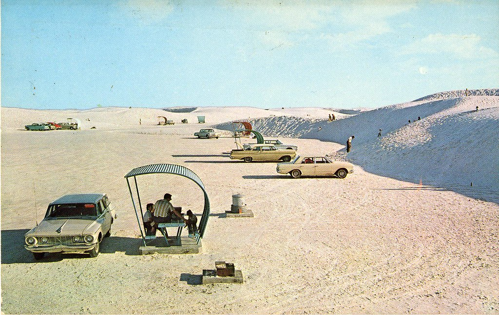 White Sands National Monument Modern Picnic Area