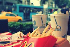 French Fries.. =D (- M7D . S h R a T y) Tags: cars turkey out focus frenchfries mcdonalds mc crisp pepsi 2010 wordsbyme allrightsreserved