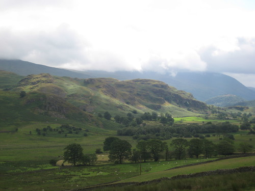 High Rigg from the Castlerigg Stone Circle