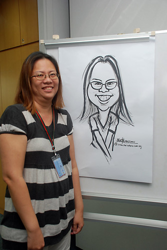 Caricature Workshop for AIA Tampines - Day 3 - 18