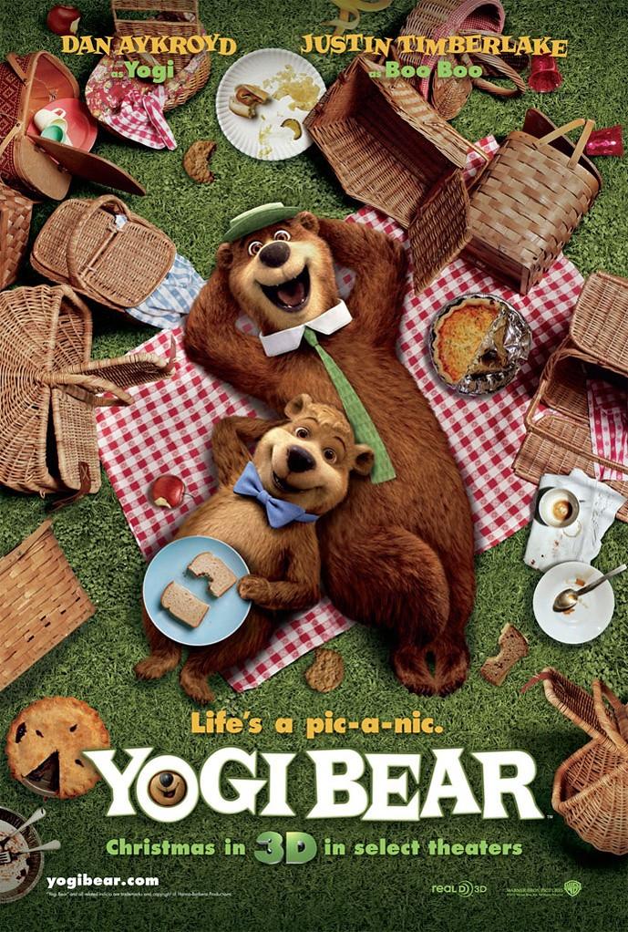 poster película del Oso Yogi