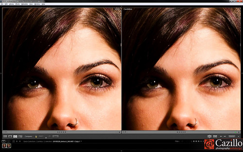 Lightroom Portrait Sharpening