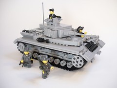 Panzer IV (ricks-to-use) Tags: soldier tank lego wwii german iv panzer mg42 mp40