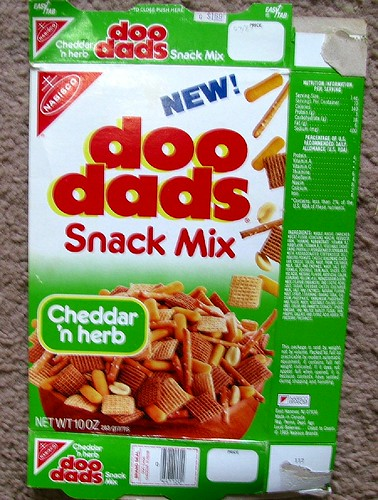 late 1980s Doo-Dads Snack mix