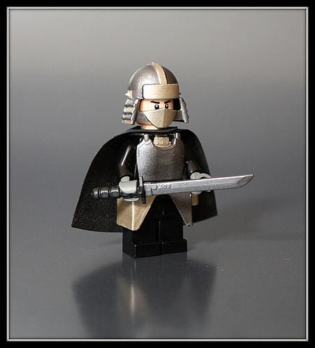 Warrior custom minifigure