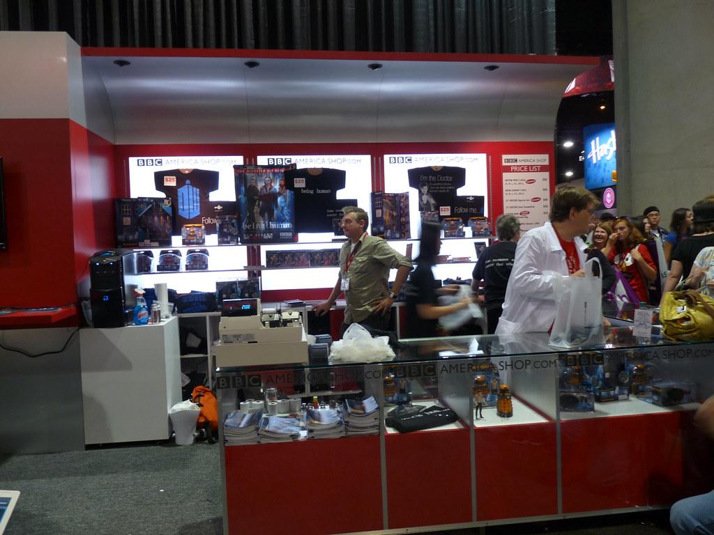 BBC America Booth at Comic-Con 2010