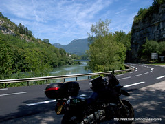 Stella Alpina 2010 (Scouse_and_Jules) Tags: travel france alps river rally july bmw motorcycle 2010 rhone stellaalpina r1100gs gorgesdulabalme