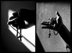 A volte siamo condizionati nello scegliere il nostro Credo ...ma esiste una vera religione? (DISAMISTADE_my life is a reportage!) Tags: stilllife hands concept luce concettuale lightmani