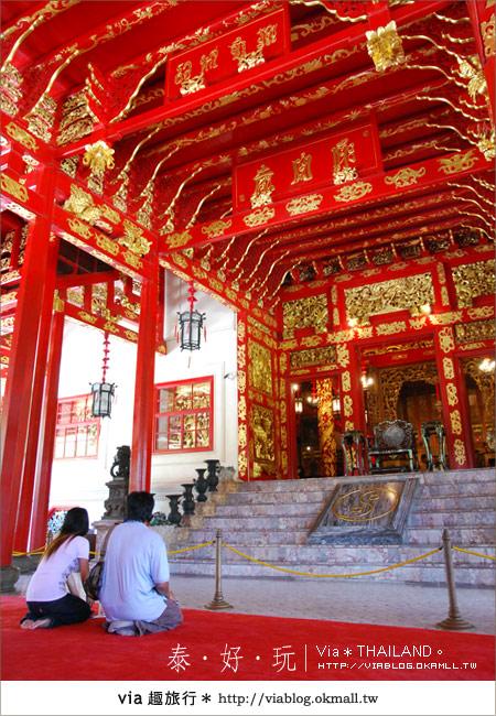 【泰國旅遊】大城之旅|泰皇的渡假聖堂~芭茵夏宮43