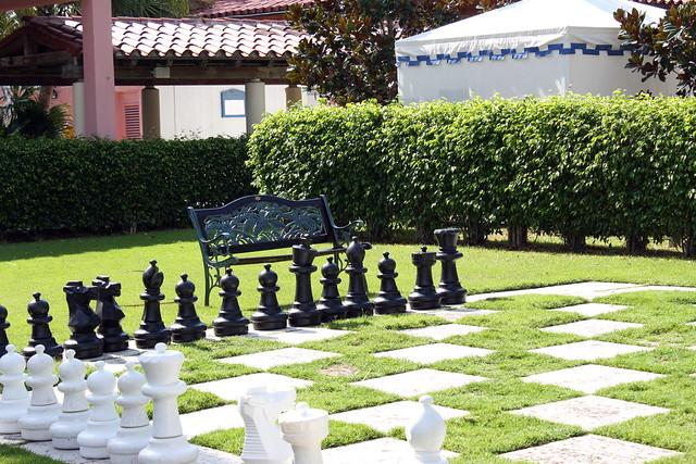 Life Size Chess Set