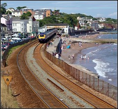 43155 Dawlish (Thrash Merchant) Tags: railroad train canon diesel rail trains seawall devon railways firstgreatwestern mtu hst dawlish highspeedtrain class43 intercity125 firstgroup ic125 fgw eos450d 43155 powercar kennawaytunnel crosscountrytrains firsttrains dawlishseawall firstgreatwesternhst fgwhst