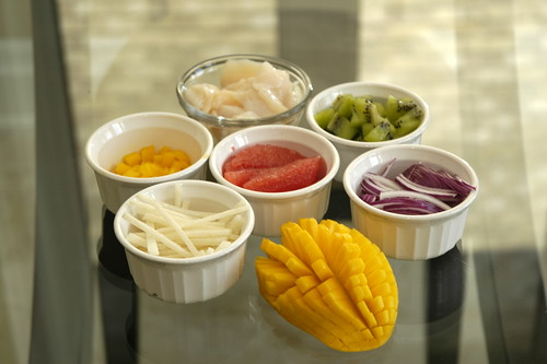 Ceviche Ingredients