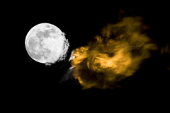 Wasted Earth (Flare 02) Explored (werxtracoo) Tags: red orange moon alexandria fire energy earth egypt gas fullmoon waste flair petroleum combustion wastes biogas petroleumwastes dekheela