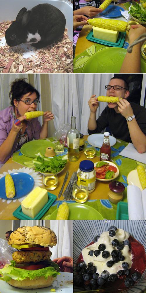 repas québécois chez Marie-Neige