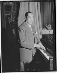Jazz musician Duke Ellington, Howard Theater, Washington, D.C., ca. June 1946