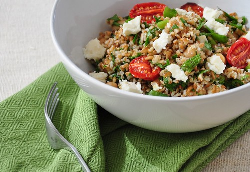 Tabbouleh with Semi-Dried Tomatoes
