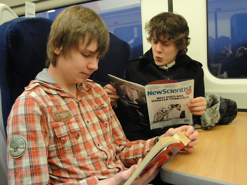 Intelligent train reading.