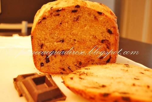 pane al latte e cioccolato