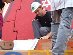 Depois da Inaugurao, momento de descontrao e fotos entre os artistas (Clickfoz) Tags: do no da lula em fronteira incio grafite viadutografitagem iguauinauguraoluis silvapresidente lulatrplice fozgrafiteviadutofoz