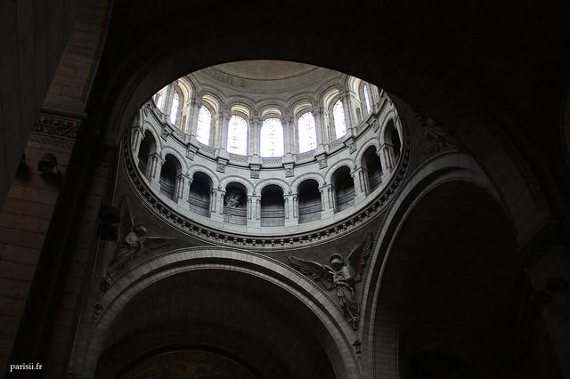 Le dôme, vu de l'intérieur