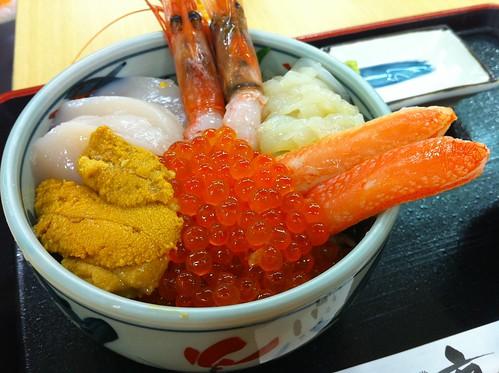 いくら亭 北海丼