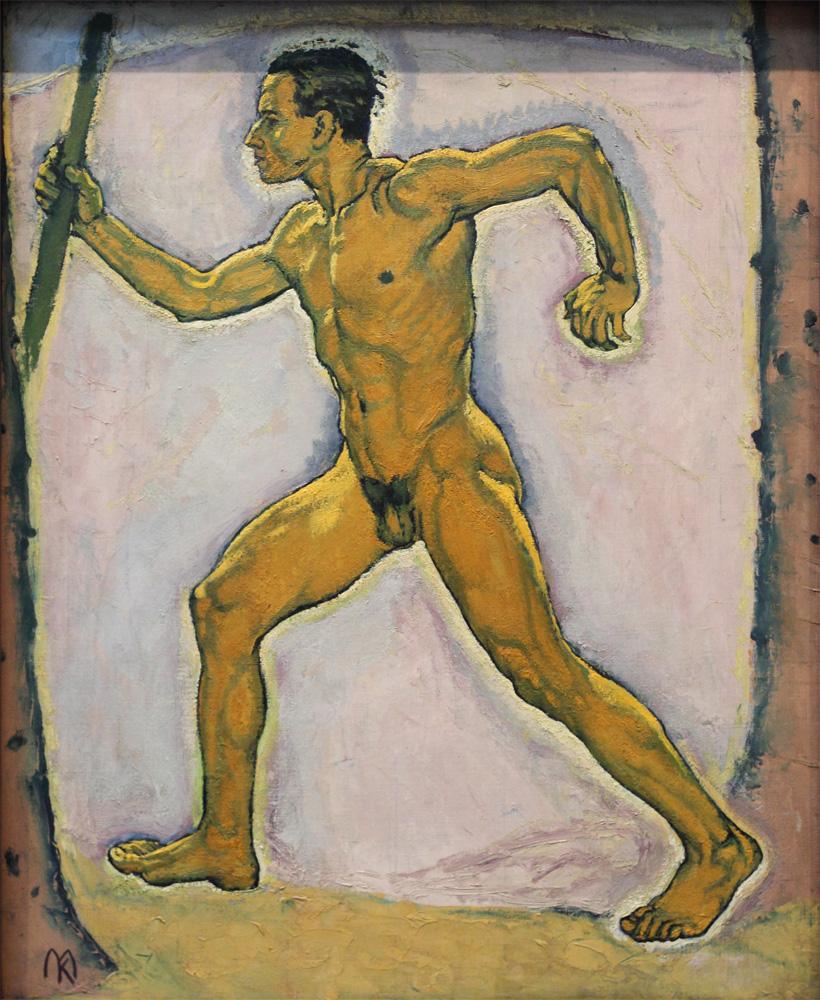"Koloman Moser, ""Der Wanderer"" [""The Wanderer""], c 1914"