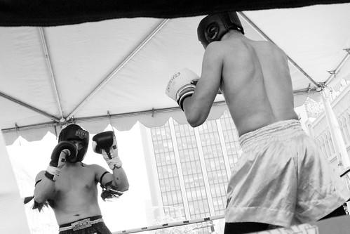 Muay Thai Kickboxing: Fight Stance