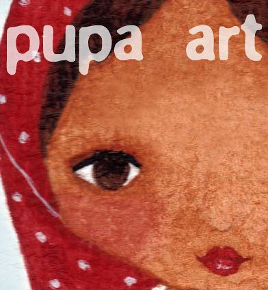 PUPA ART BUTTON