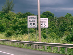 Velocidad Maxima 65 (MPD01605) Tags: road sign highway carretera puertorico autopista speedlimit autoroute panneau 65 seal portorico velocidadmaxima