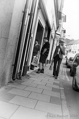 Street Life (K_D_B 2.7 Million views. Thanks) Tags: street bw woman streets canon pavement shops shoppers 30d fishguard goldenmile kdb sigma1770f28dcosmacro