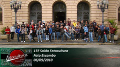 Galera na 15ª Saída Fotocultura