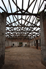 Abandoned factory ground, Pingyao, China (sensaos) Tags: china old urban abandoned industry town ancient asia industrial factory decay pingyao factories azie azië