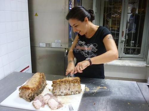 carré di maiale in crosta di sale.. lezione di cucina