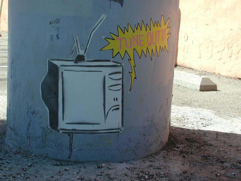 TUNE OUT, Street Art, Graffiti, Oakland