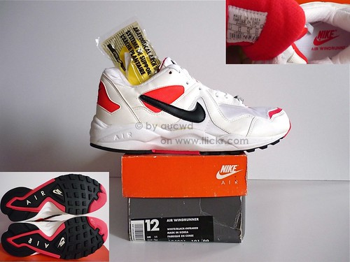 brand new 573a5 61aac ... purchase unworn 90s vintage nike air windrunner shoes 4f4f9 8599e