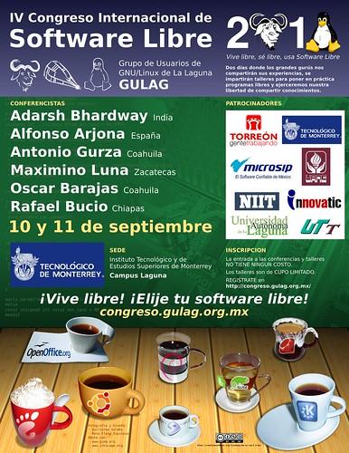 4º Congreso Internacional de Software Libe