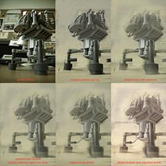 lego robot 2 - steps (Stefan Marjoram) Tags: photoshop robot lego scifi paintover