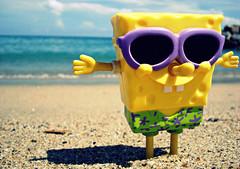 Holidays!!! (DannEpp) Tags: plaza macro toys mar arena cielo vargas juguete facebook bobesponja laguaira bobsponge retos fdv sonydscw200