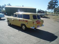 1958 Holden FC ambulance (sv1ambo) Tags: classic creek gm panel general transport sydney australian australia ambulance motors queensland 1958 van fc eastern holden brigade 2010 shannons raceway qatb