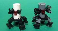 "Centaur Drones (""Luke"") Tags: robot lego centaur unmanned drone ugv"