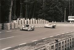 Indianapolis - Le Mans 1991 (3) (mendaman) Tags: world bw white black sports tom championship cut c group silk racing mans le prototype 1991 jaguar mazda fia sportscars twr swc xjr12 787b wspc walkinsaw