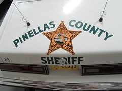 1988 Pinellas County Dodge Diplomat (still owned by Pinellas County) (FormerWMDriver) Tags: car museum police cop vehicle law enforcement sheriff emergency cruiser patrol copcarsonline classicautomobilecoinc