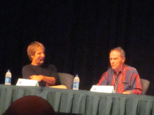 Quantum Leap Panel with Scott Bakula and Dean Stockwell at Dragon*Con 2010
