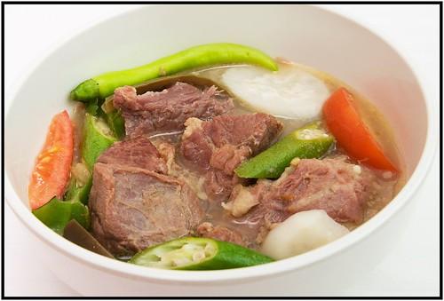 Qorned Beef Sinigang